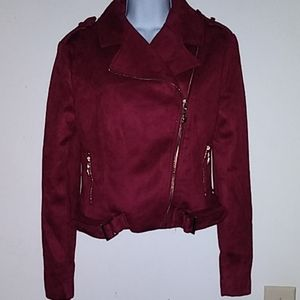 NWT Romeo & Juliet Couture Moto Jacket.